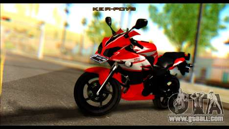 Honda All New CBR150R for GTA San Andreas