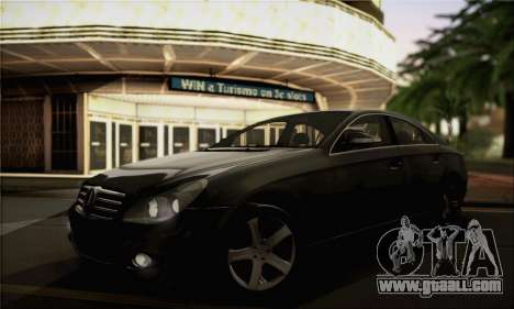 Mercedes-Benz CLS 500 for GTA San Andreas