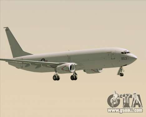 Boeing P-8 Poseidon US Navy for GTA San Andreas right view