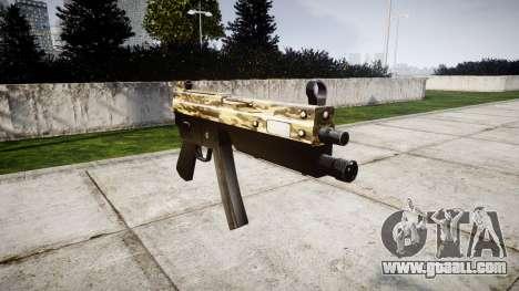 Submachine gun MP5 Desert for GTA 4