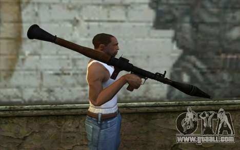 New Rocket Launcher for GTA San Andreas third screenshot