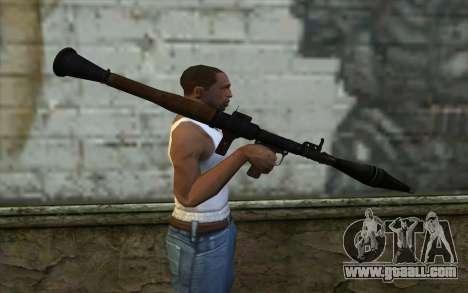 New Rocket Launcher for GTA San Andreas third screenshot