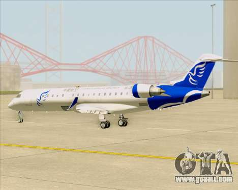 Embraer CRJ-700 China Express Airlines (CEA) for GTA San Andreas inner view