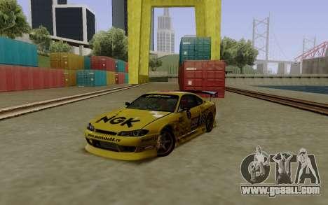 Nissan Silvia S15 NGK Motorsport for GTA San Andreas