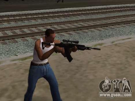 Heavy Sniper Rifle from GTA V for GTA San Andreas third screenshot