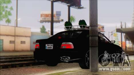 BMW 520d E39 2000 for GTA San Andreas left view