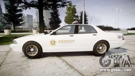 GTA V Vapid Police Cruiser Rotor [ELS] for GTA 4 left view