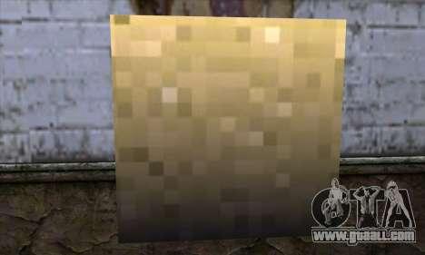 Block (Minecraft) v6 for GTA San Andreas