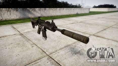 Machine P416 silencer PJ3 for GTA 4