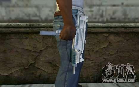 MP5 from GTA Vice City for GTA San Andreas third screenshot