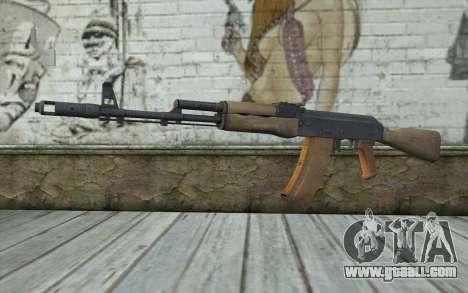 AK-74 Standart for GTA San Andreas