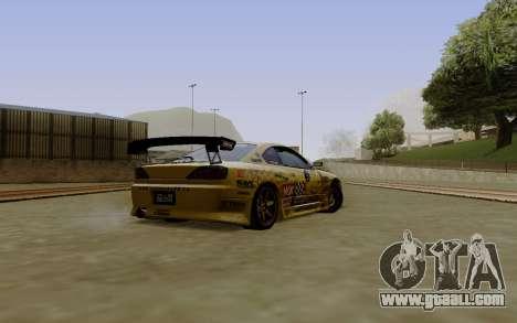 Nissan Silvia S15 NGK Motorsport for GTA San Andreas left view