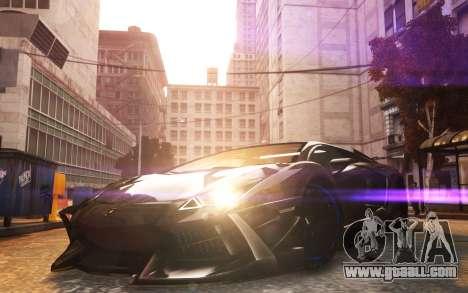 Lamborghini Aventador TZR R-Tech for GTA 4 back left view