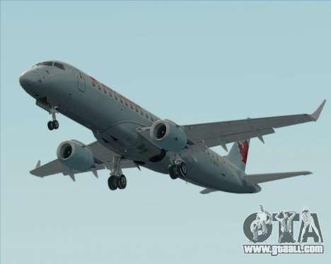 Embraer E-190 Air Canada for GTA San Andreas bottom view