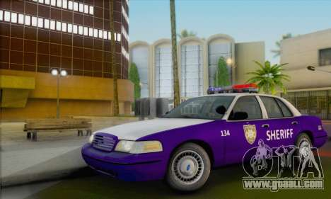 Ford Crown Victoria 1999 Walking Dead for GTA San Andreas