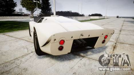 Ford GT40 Mark IV 1967 for GTA 4 back left view
