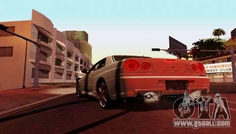 ENB for weak computers for GTA San Andreas fifth screenshot