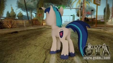 Shining Armor from My Little Pony for GTA San Andreas second screenshot