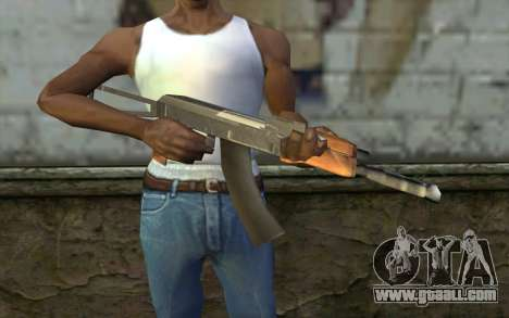 AK47 from Hitman 2 for GTA San Andreas