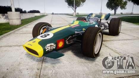 Lotus 49 1967 green for GTA 4