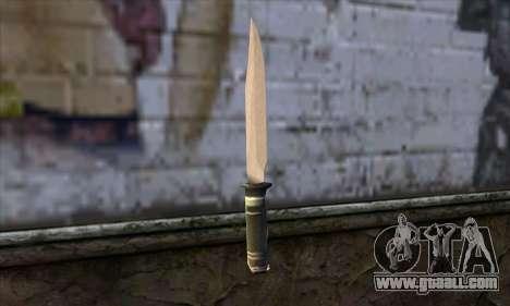 Long knife for GTA San Andreas second screenshot