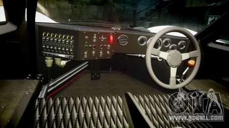 Ford GT40 Mark IV 1967 PJ RAPA olio 8 for GTA 4 back view