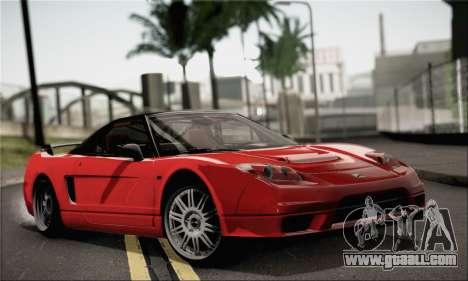 Honda NSX for GTA San Andreas