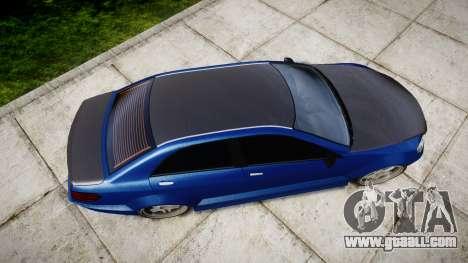 Benefactor Schafter Mercedes-Benz for GTA 4 right view