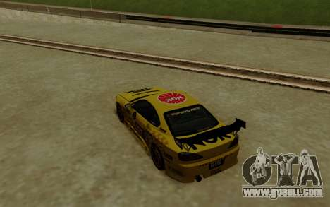 Nissan Silvia S15 NGK Motorsport for GTA San Andreas back left view