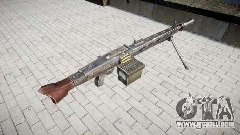 German MG3 machine gun icon3 for GTA 4 second screenshot