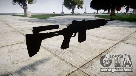 Automatic rifle Mk 14 for GTA 4 second screenshot
