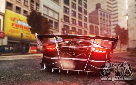 Lamborghini Aventador TZR R-Tech for GTA 4 left view