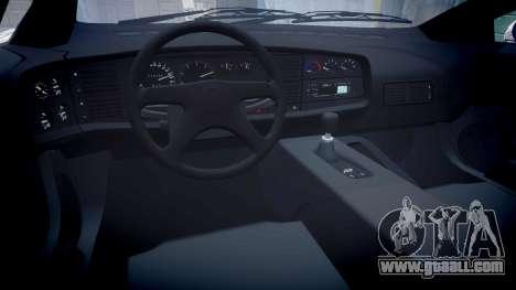 Jaguar XJ220 1992 [EPM] Sharpie for GTA 4 inner view