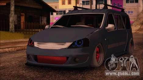 Dacia Logan MCV Tuning for GTA San Andreas