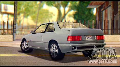 Maserati Ghibli II Cup (AM336) 1995 for GTA San Andreas left view