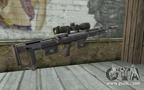 Sniper Rifle from Sniper Ghost Warrior for GTA San Andreas second screenshot