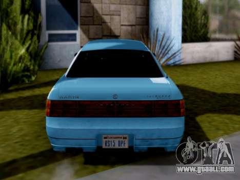 GTA V Intruder for GTA San Andreas right view