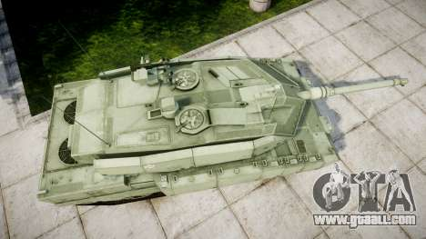 Leopard 2A7 EU Green for GTA 4 right view