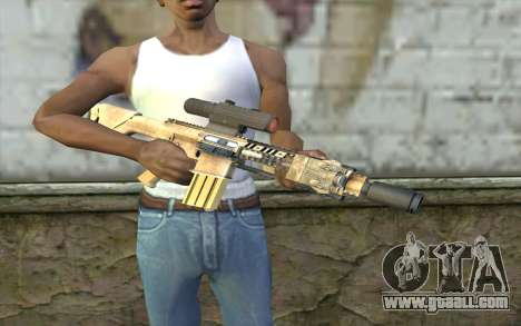 M110 Cuarter Combat Rifle for GTA San Andreas third screenshot