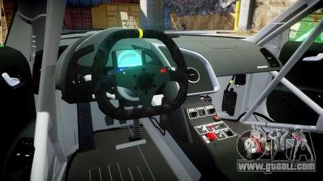 Audi R8 LMS Castrol EDGE for GTA 4 back view
