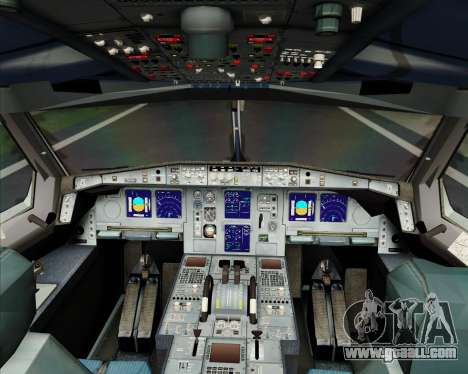Airbus A340-600 Turkish Cargo for GTA San Andreas interior