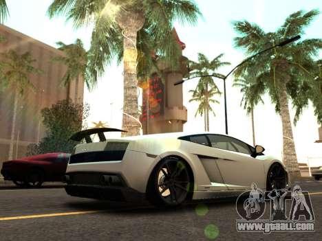 Lime ENB v1.2 SA:MP Edition for GTA San Andreas sixth screenshot