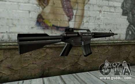 Retextured M4 for GTA San Andreas second screenshot