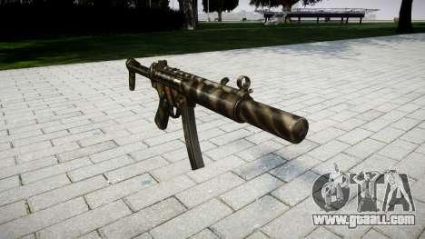Gun MP5SD NA FS for GTA 4