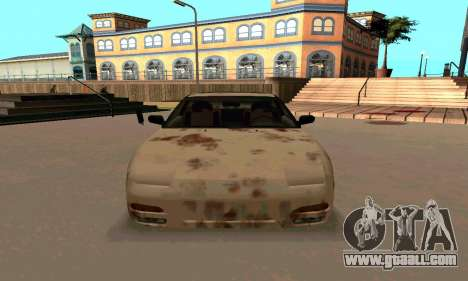 Nissan 240SX Rusted for GTA San Andreas back view