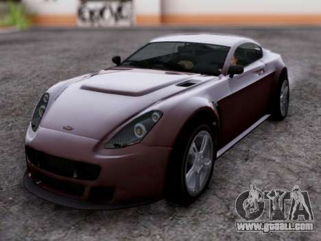 Dewbauchee Rapid GT for GTA San Andreas