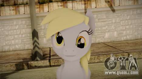 Derpy Hooves from My Little Pony for GTA San Andreas third screenshot