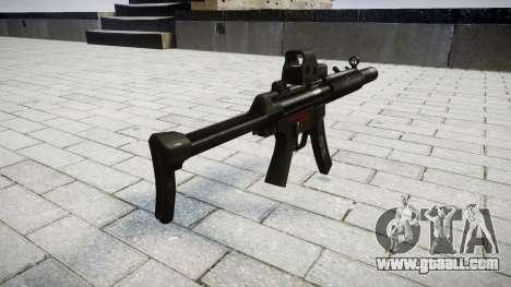 Gun MP5SD EOTHS FS for GTA 4 second screenshot