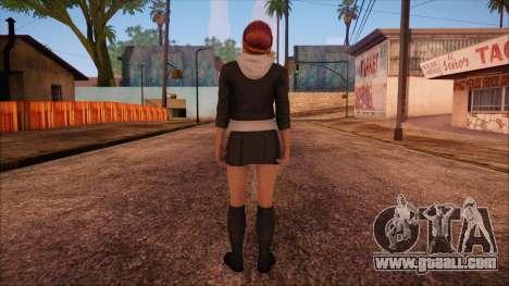 Modern Woman Skin 2 v2 for GTA San Andreas second screenshot