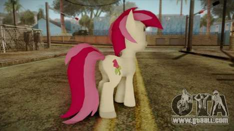 Roseluck from My Little Pony for GTA San Andreas second screenshot